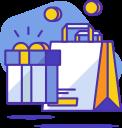 icone de shopping